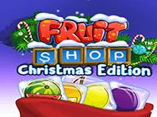 Автомат Fruit Shop Christmas Edition от Netent онлайн для игры на деньги